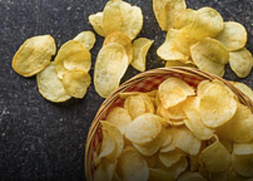 Lekker chips smullen in JumpWorld