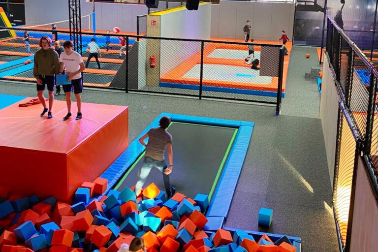 JumpWorld wedstrijd met vrienden