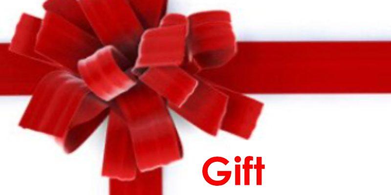 Geef een cadeau aan je vrienden